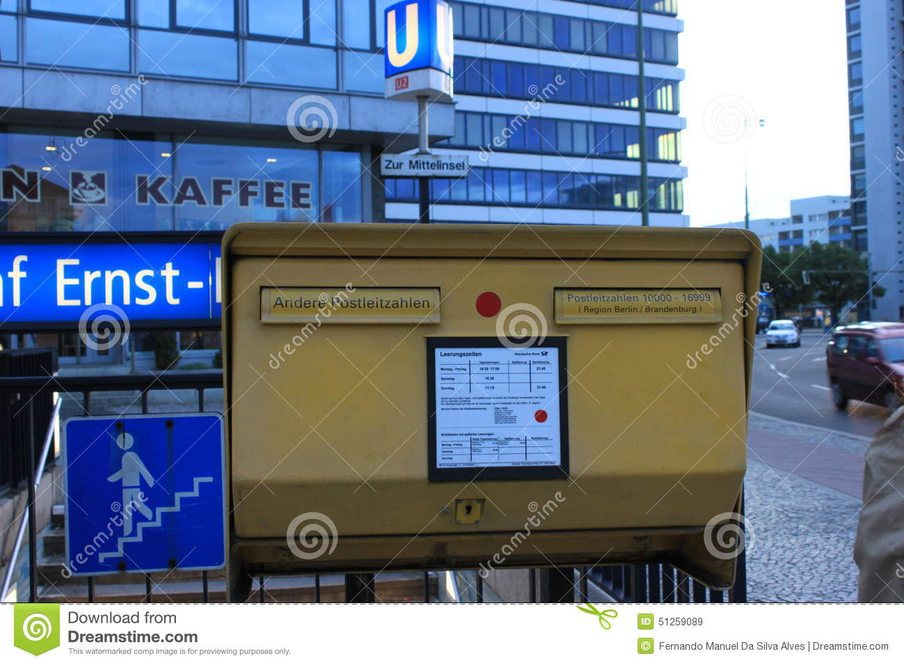 Post Office mailing box - Berlin