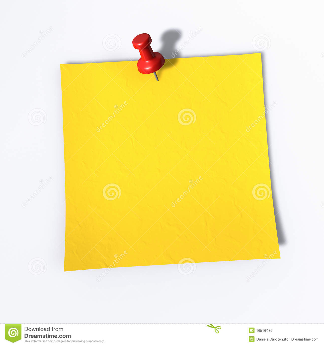post it a red tack on a memo note royalty stock image post it a red tack on a memo note