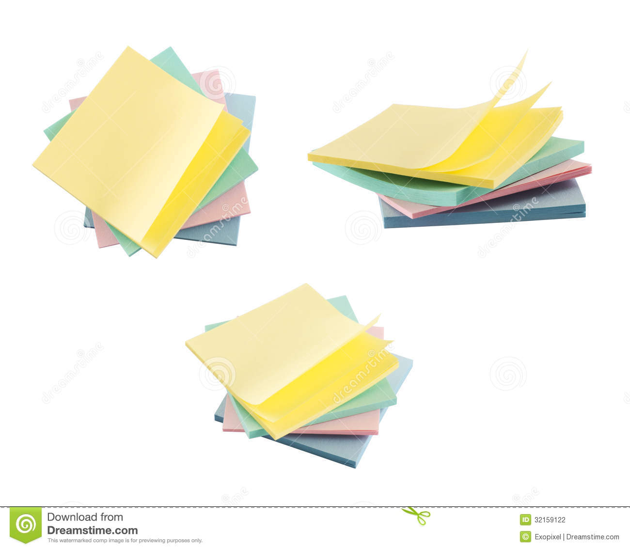Post it sticky notes composition stock photo image 32159122 royalty free stock photo jeuxipadfo Images