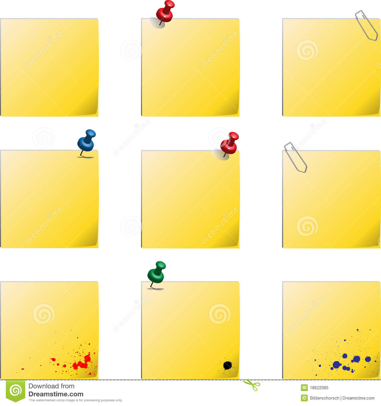 post it notes template download