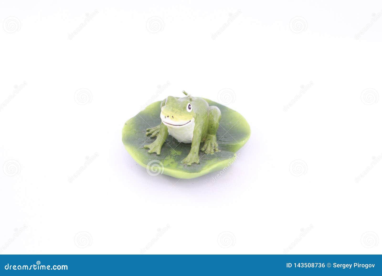 Postaci żaby świeczka