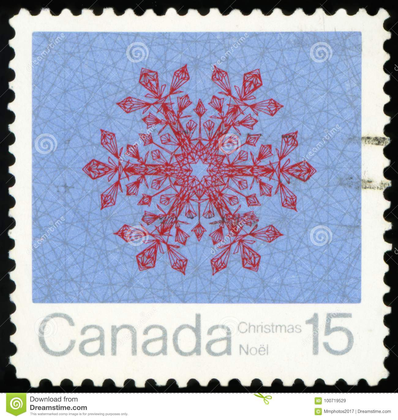 Postage Stamp Canada Editorial Stock Image Image Of Postmark