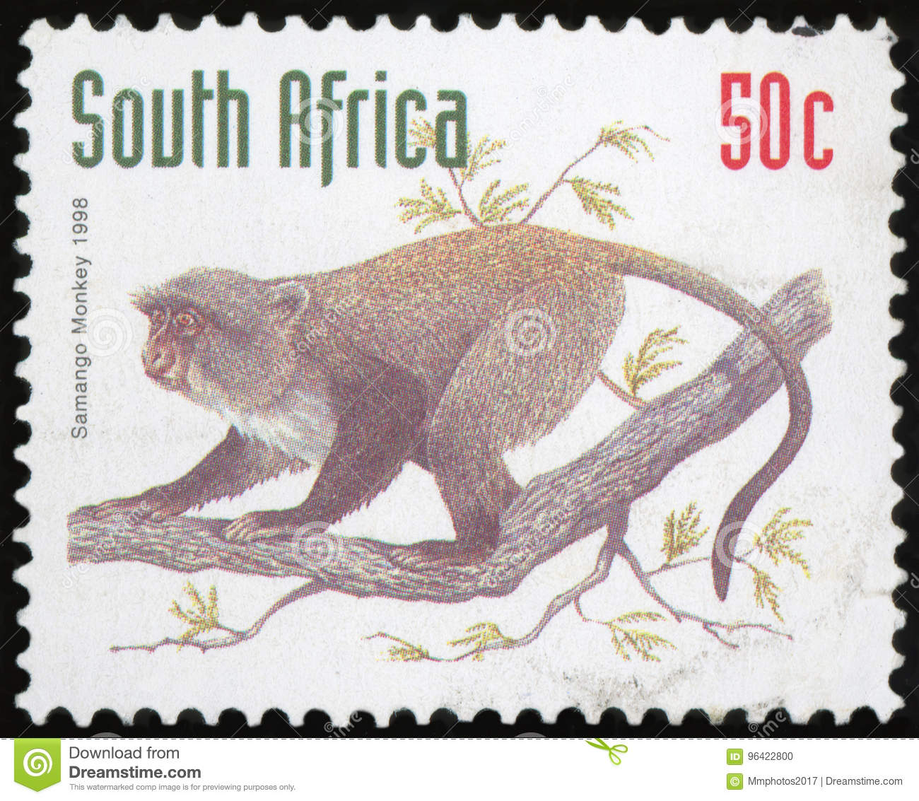 Postage stamp - South Africa