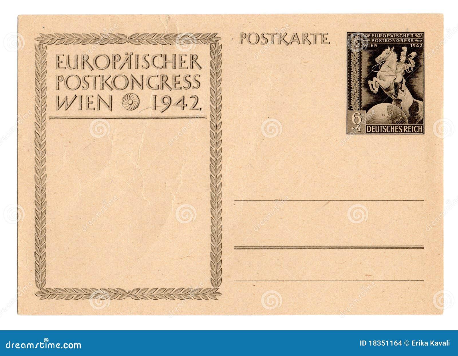 Postal alemana del Reich