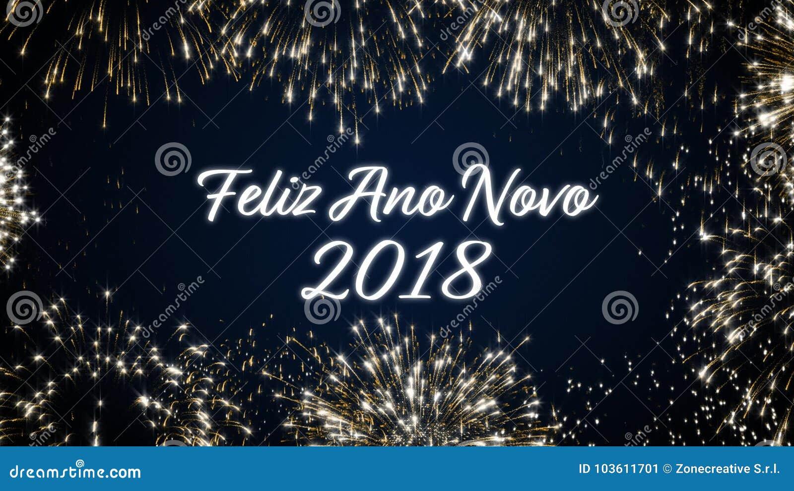 Postal De Colocacion Del Social De La Feliz Ano Nuevo 2018 Con Los