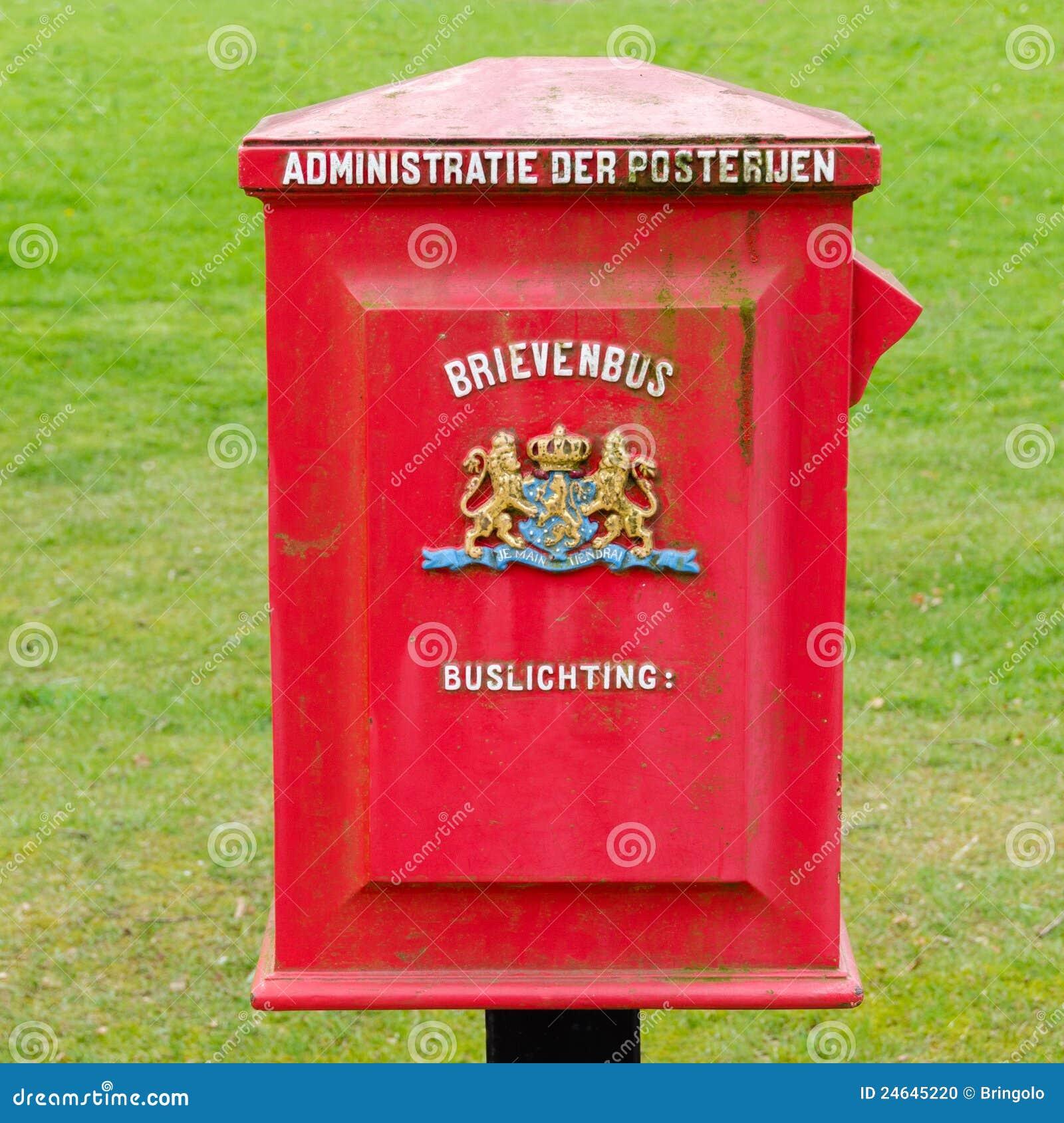 Postbox holenderski rocznik