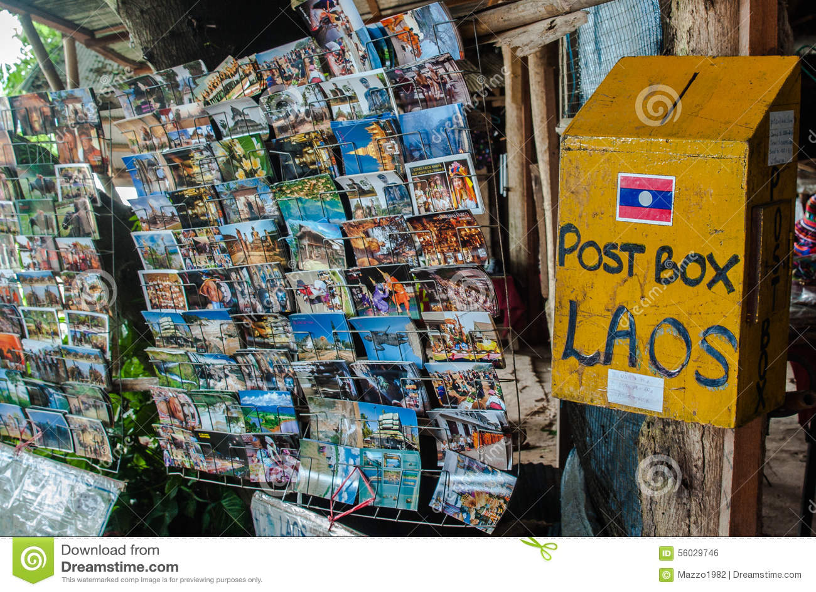 Postbox Laos