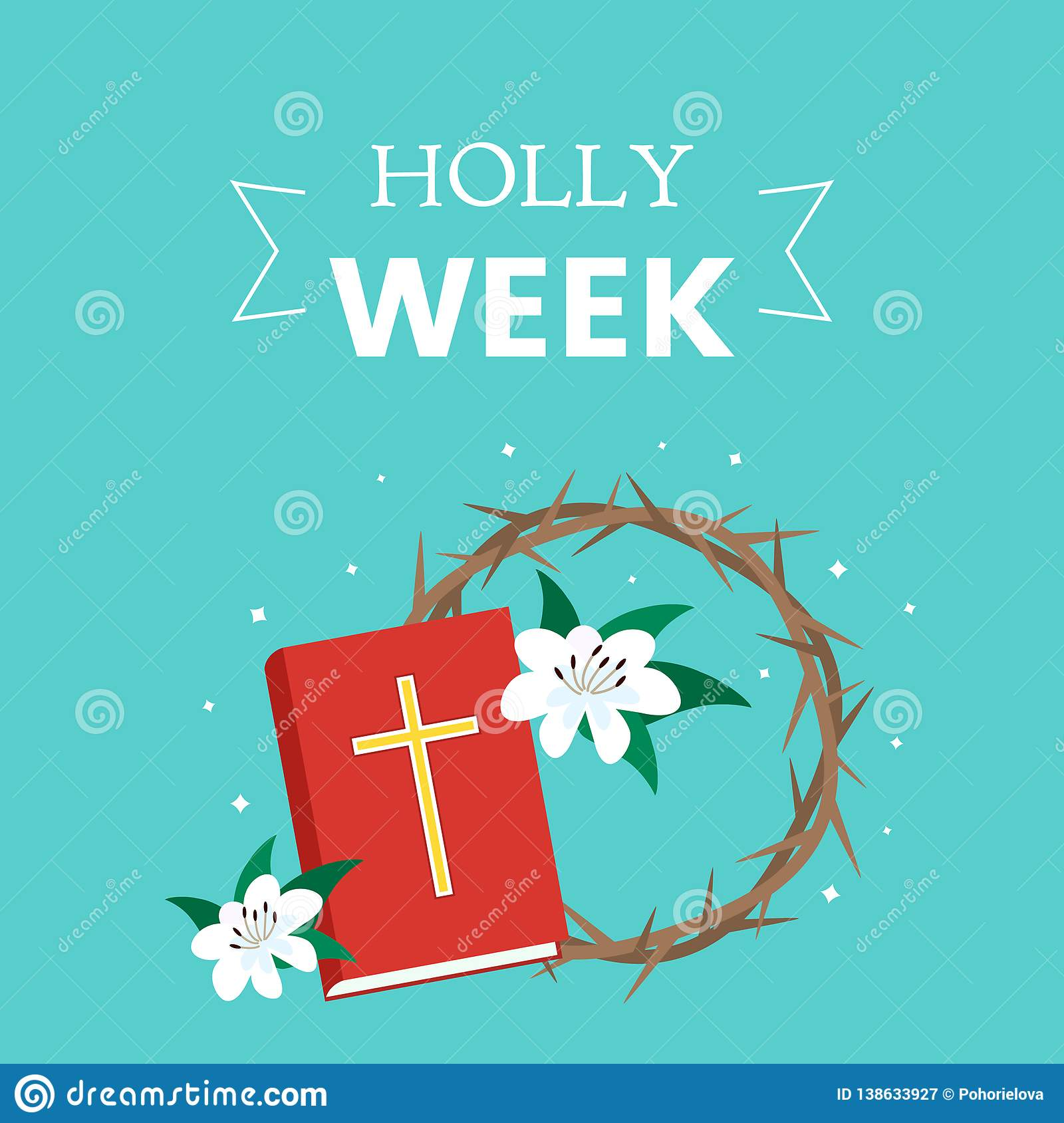 Download Postcard Holy Week Before Easter, Lent And Palm Sunday ...