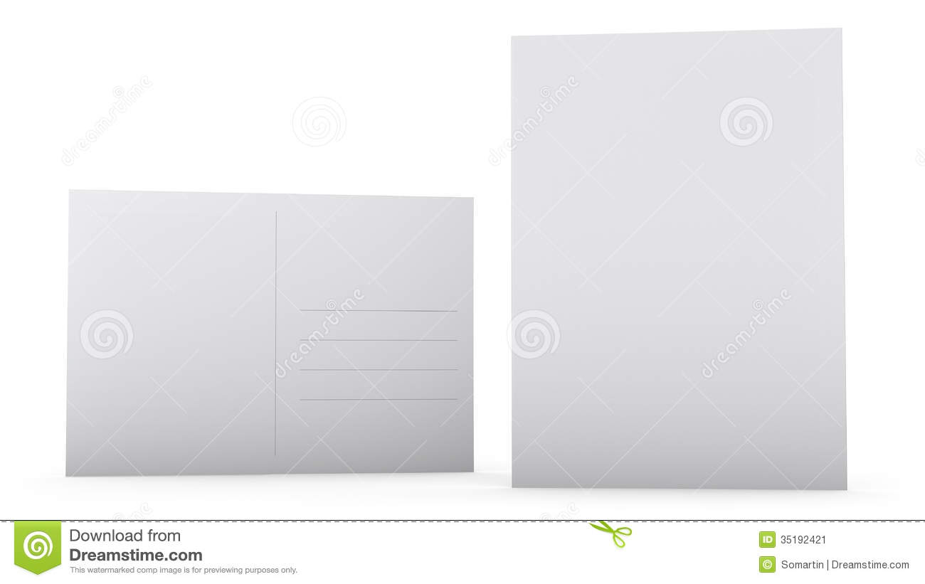 postcard template stock illustration illustration of address 35192421