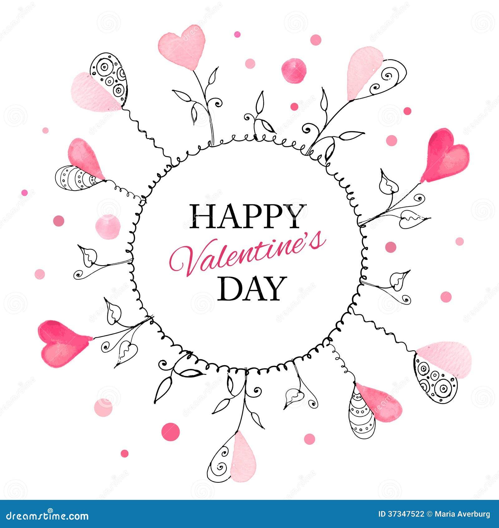 Postcard for Valentine s day