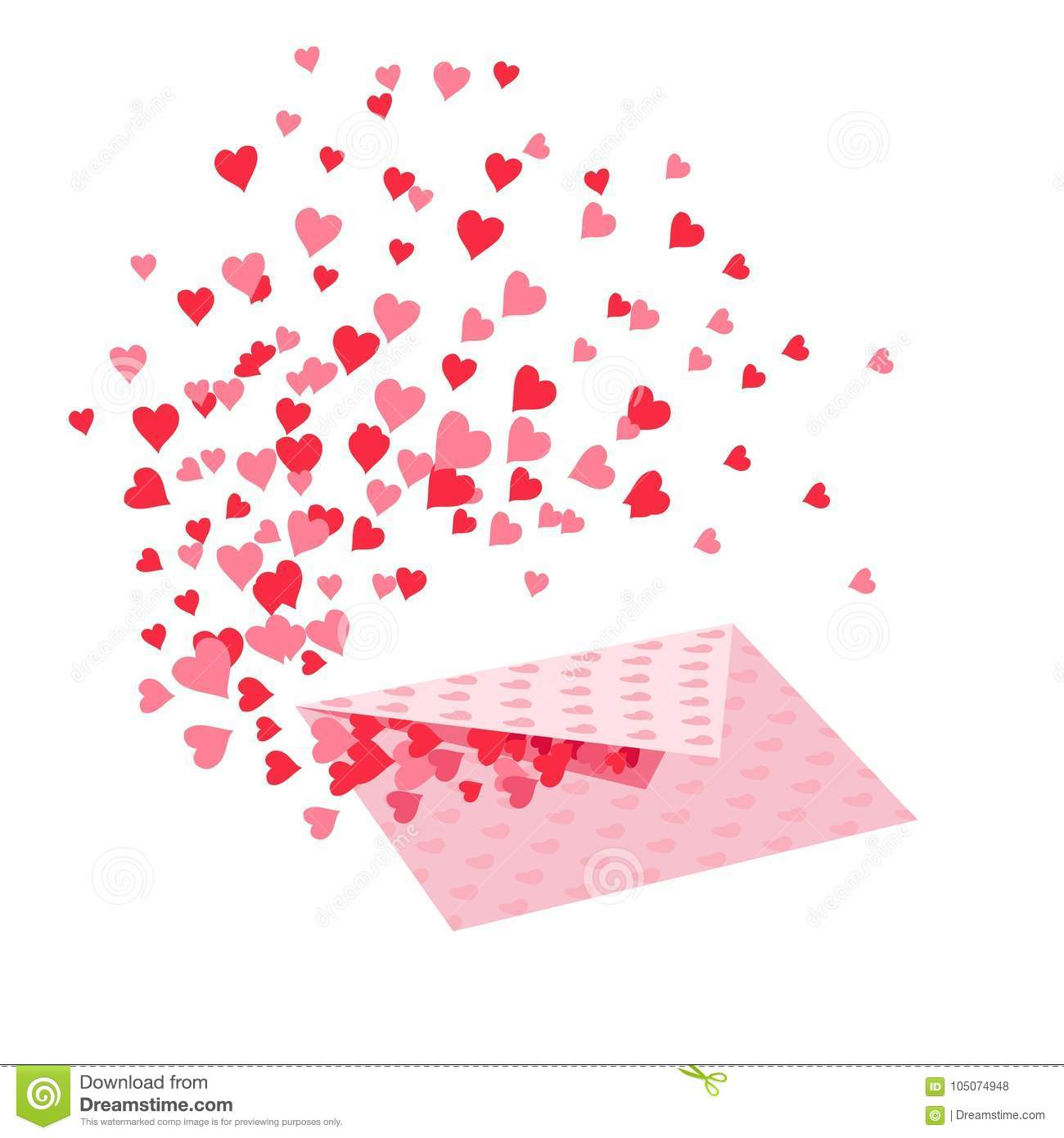 Postcard Valentine S Day A Letter With A Message Of Love From The