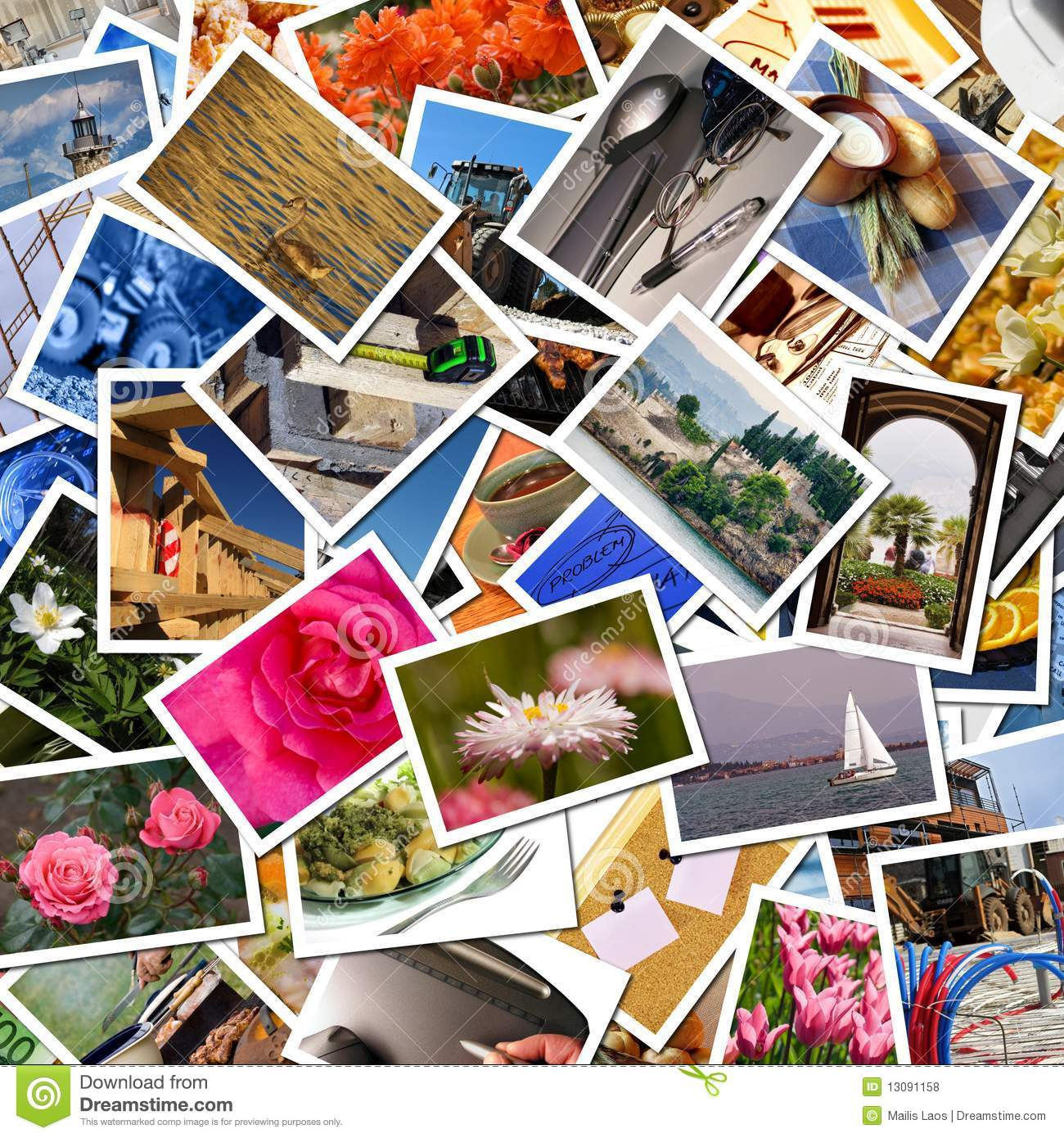 Postcards collection stock photo. Image of photo, print ...
