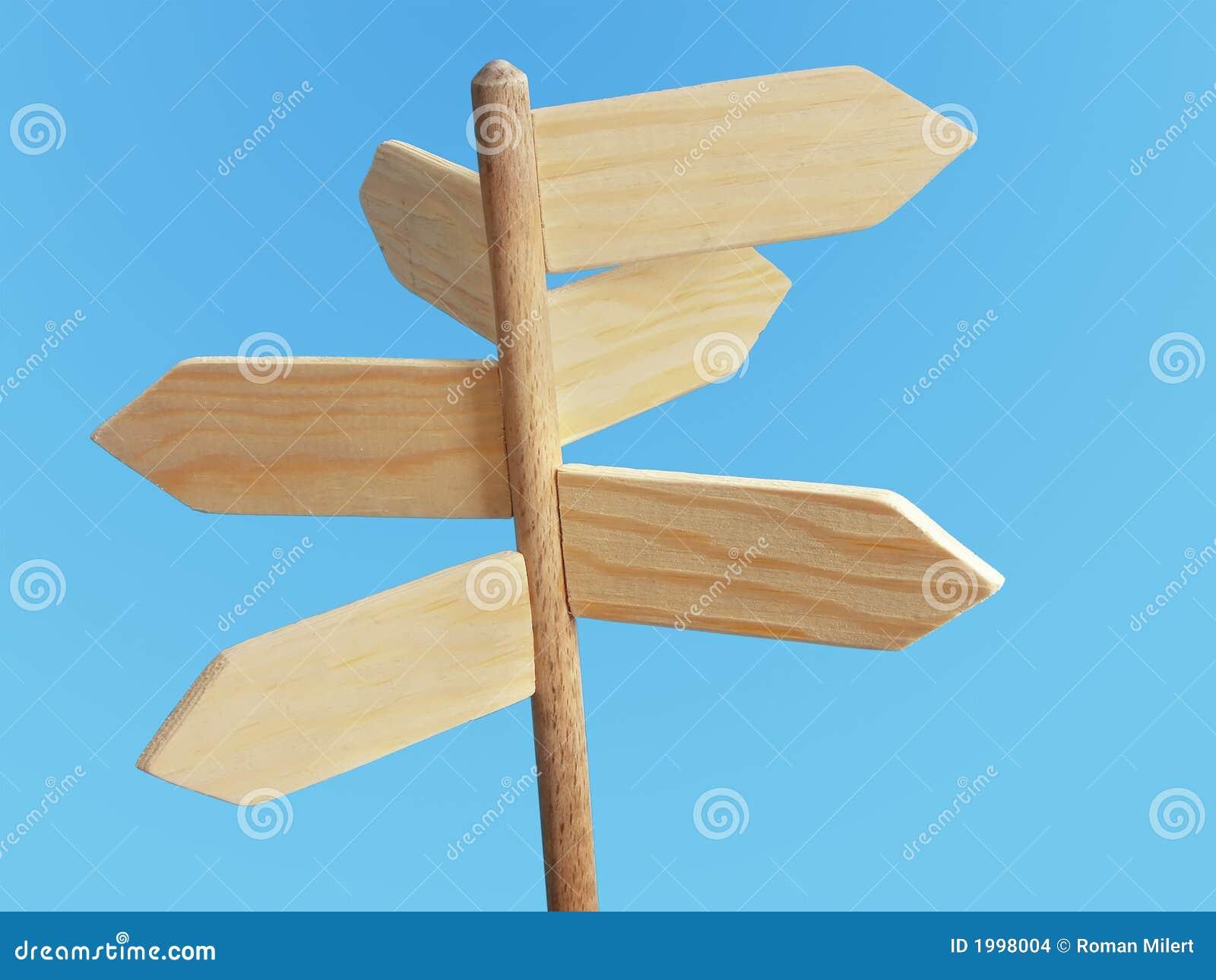 Poste indicador de madera imagenes de archivo imagen - Transferir fotos a madera ...