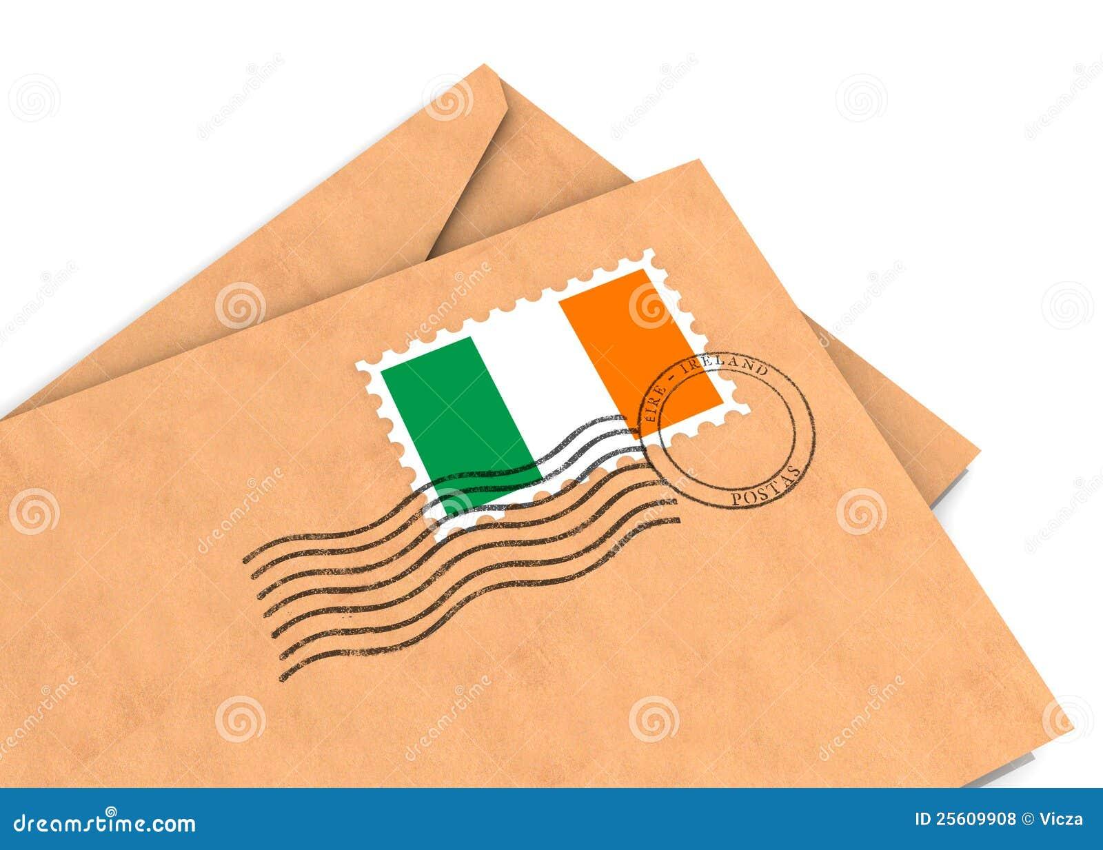 Poste irlandés