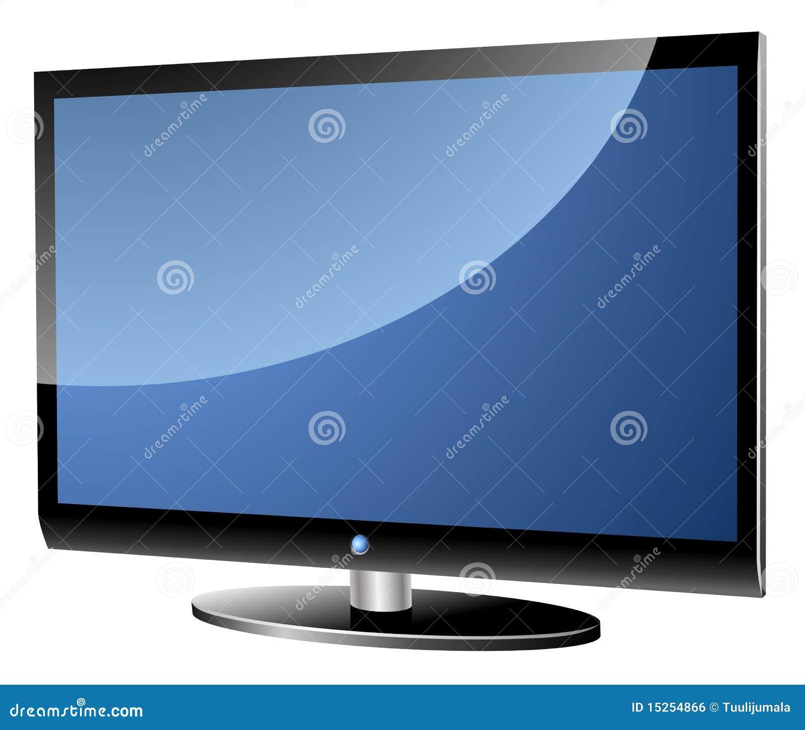 Poste Tv Moderne Illustration De Vecteur Image Du Digital 15254866 # Television Moderne