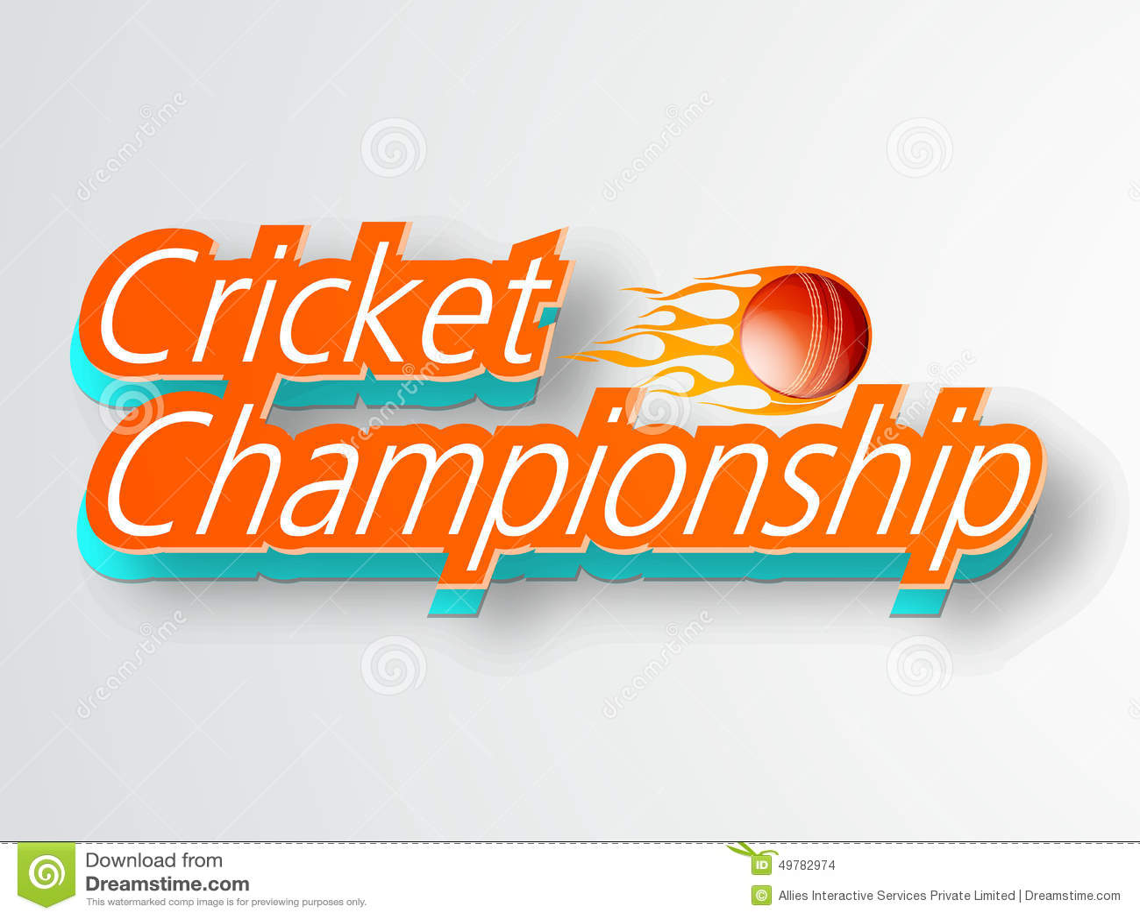 Poster or banner design for cricket championship stock - Text banner design ...