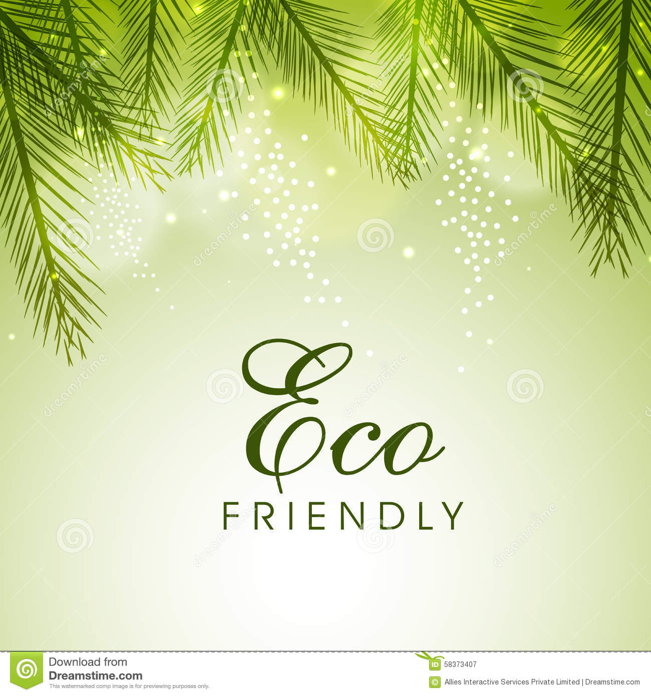 Eco Friendly Poster Stock Vector - Image: 66729663