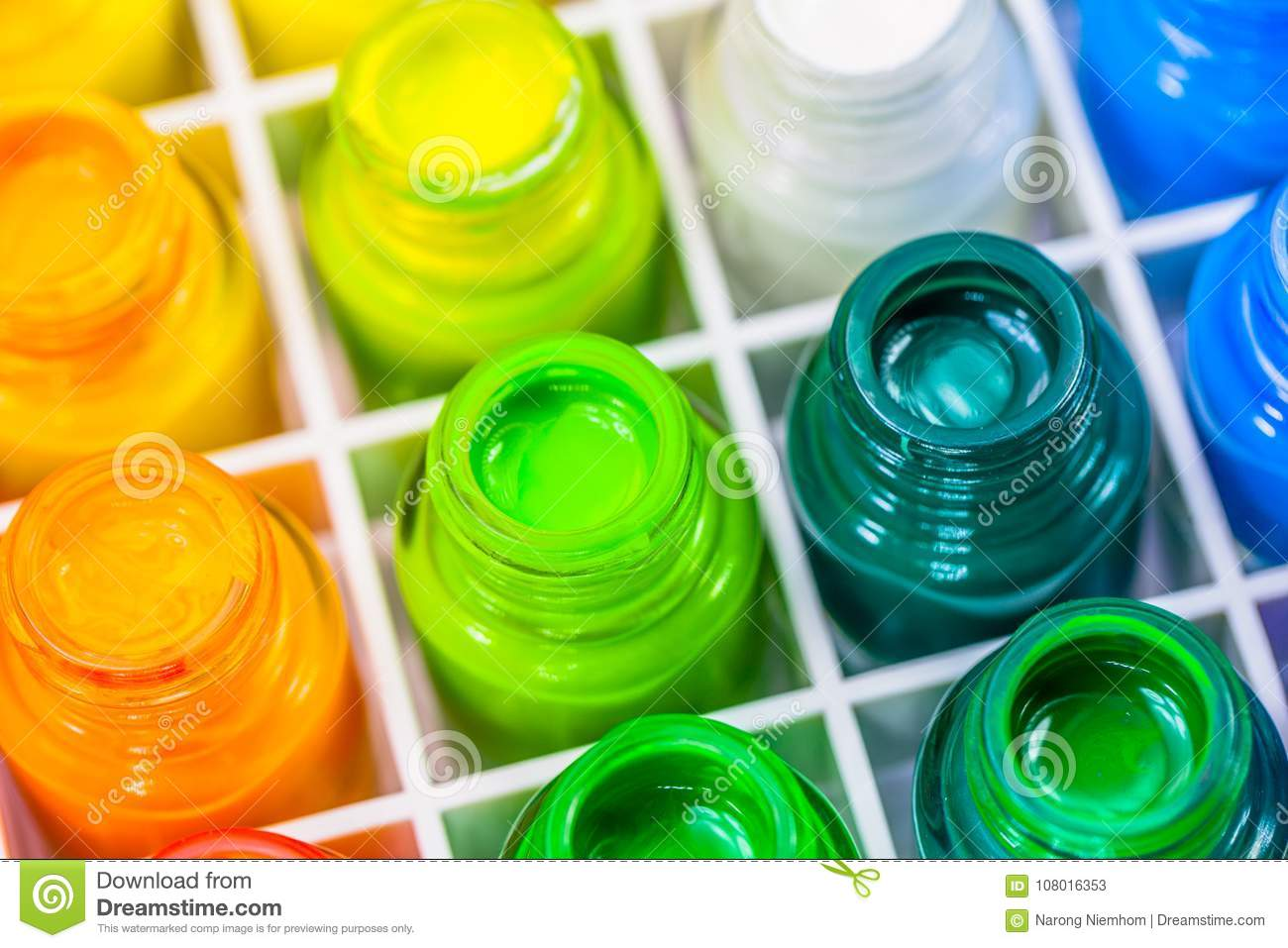 poster color is a water paint type