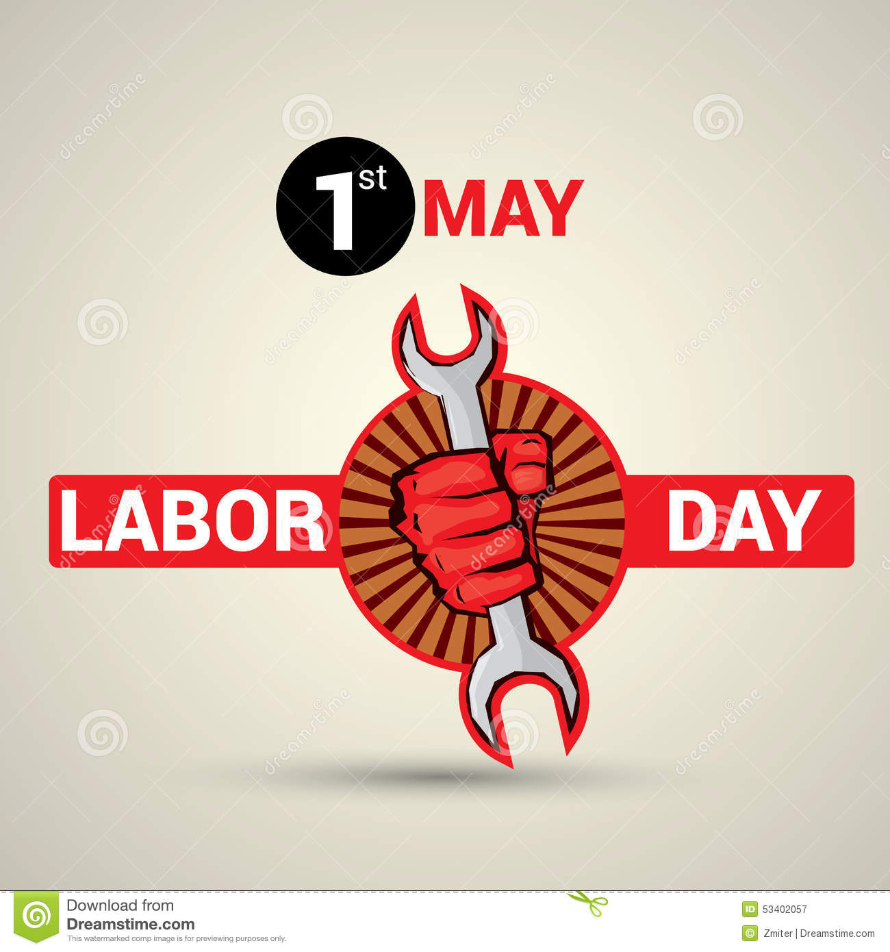 Poster design with text 1st may labor day stock vector poster design with text 1st may labor day badge labour kristyandbryce Image collections