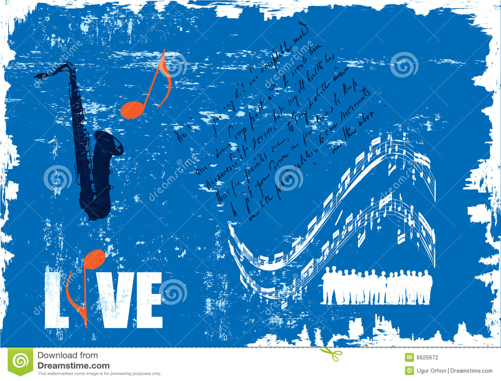 Poster do concerto de Grunge