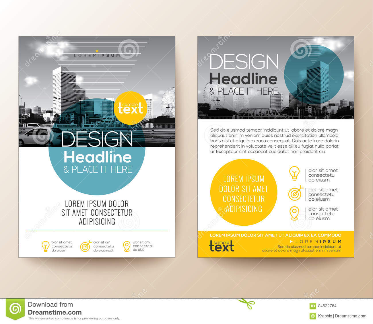 Poster Flyer Pamphlet Brochure Cover Design Layout Vector – Pamphlet Layout