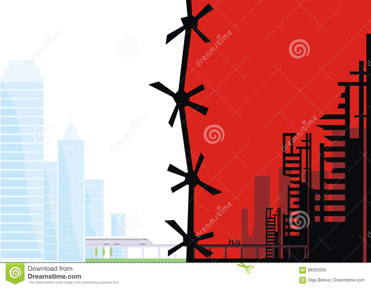 poster template about migrants stock vector illustration of misery
