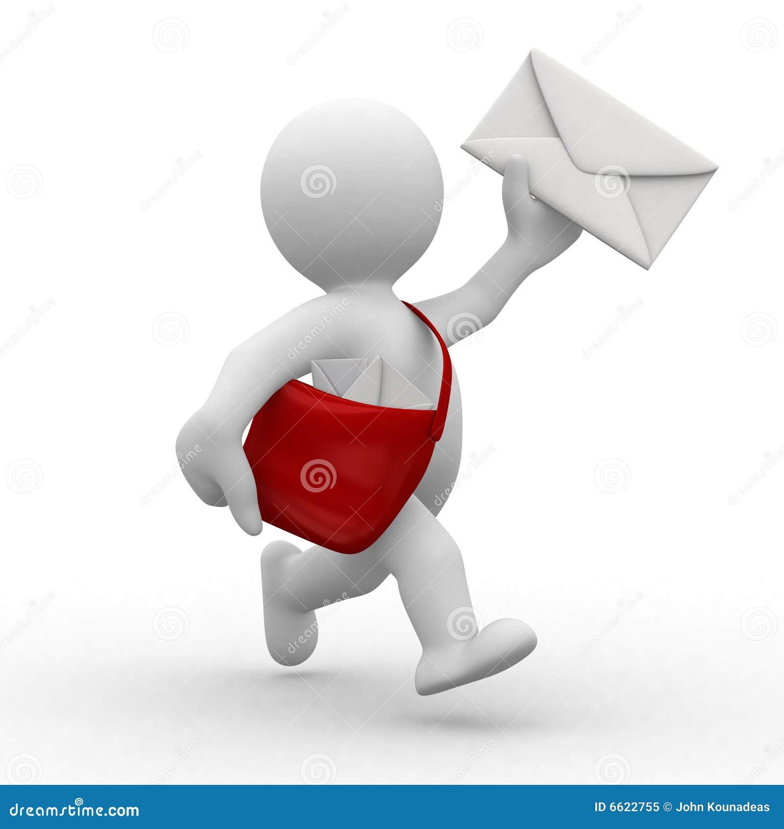 Postman Royalty Free Stock Photo Image 6622755