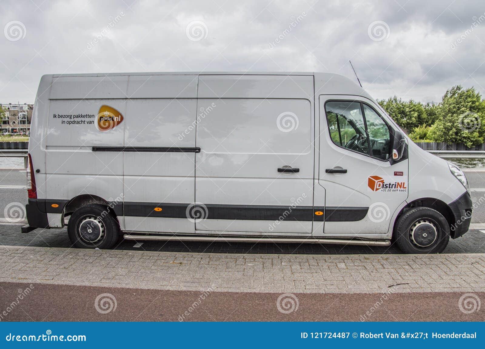 Postnl blanco Van At Diemen The Netherlands