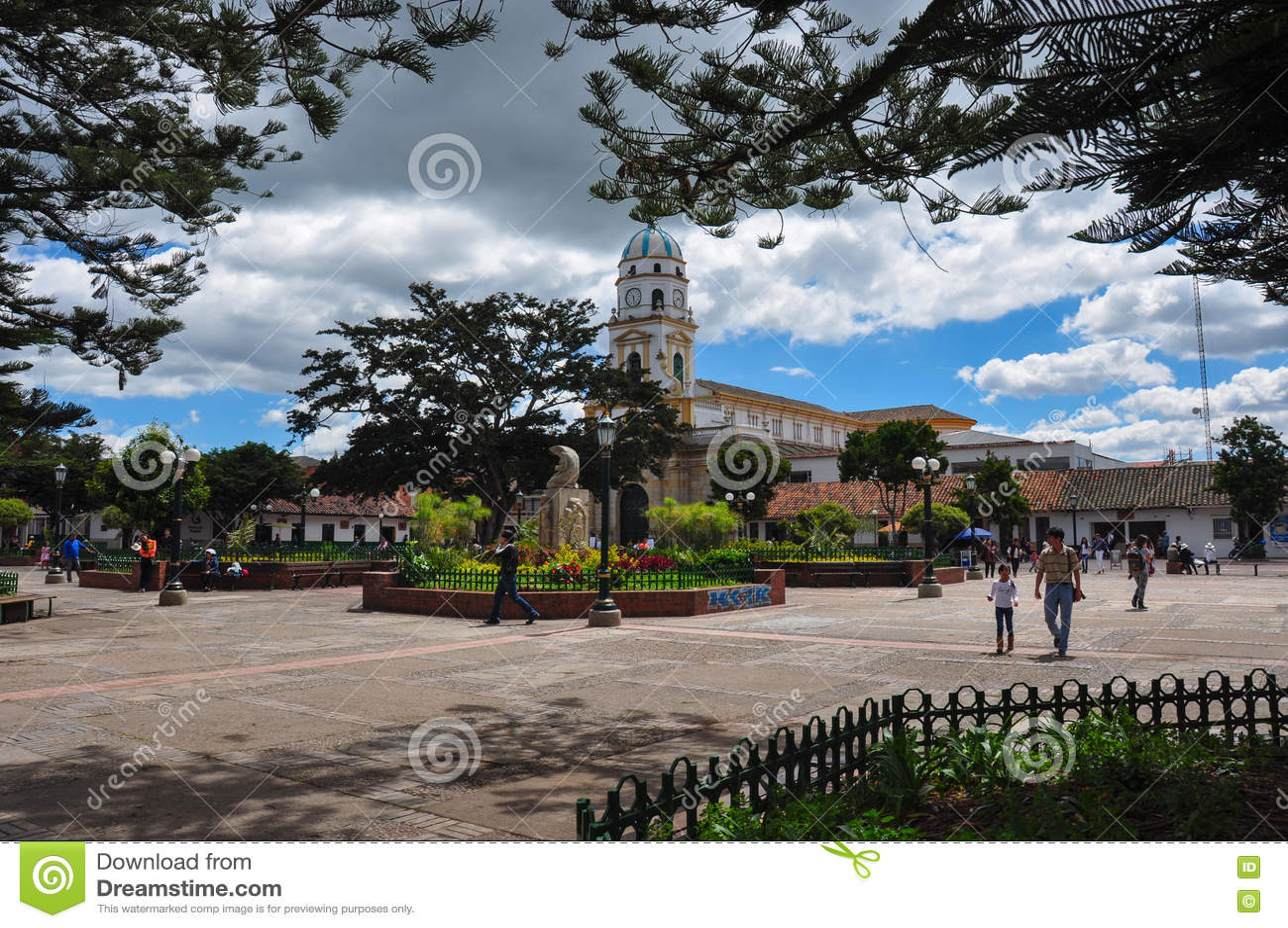 Posto centrale in Chia, Colombia