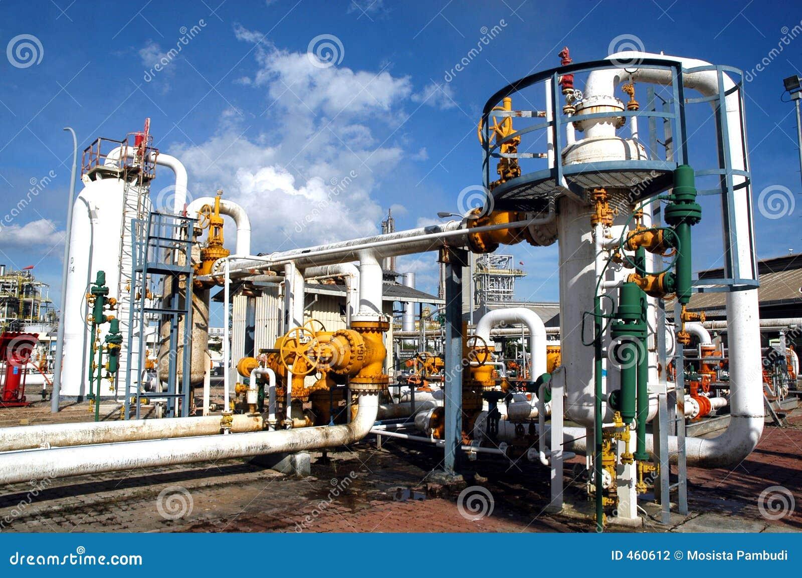 Posto de gasolina natural