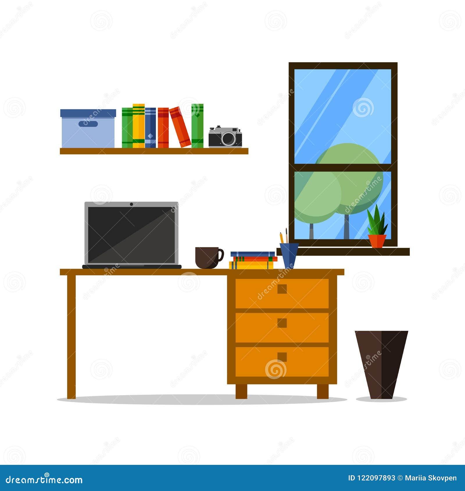Sito Per Progettare Casa posto di lavoro piano dell'ufficio o della casa con la
