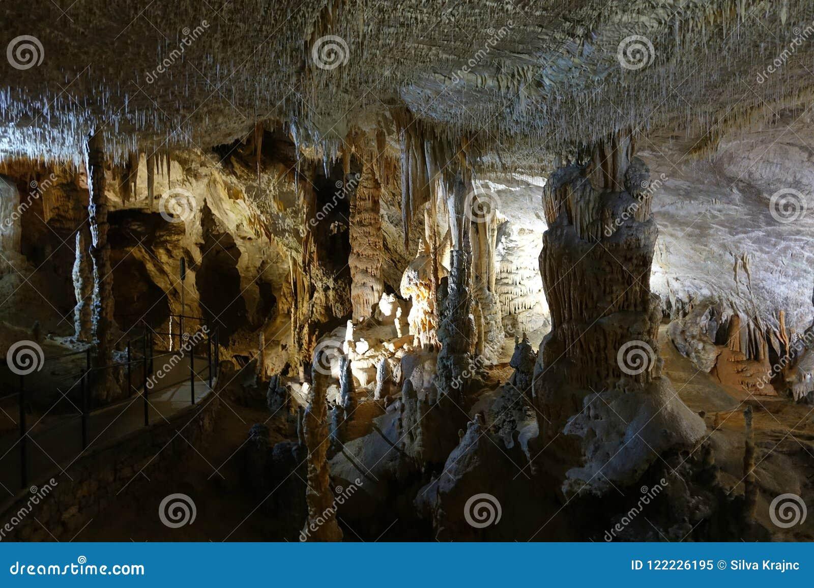 Postojna cave, Slovenia, Europe