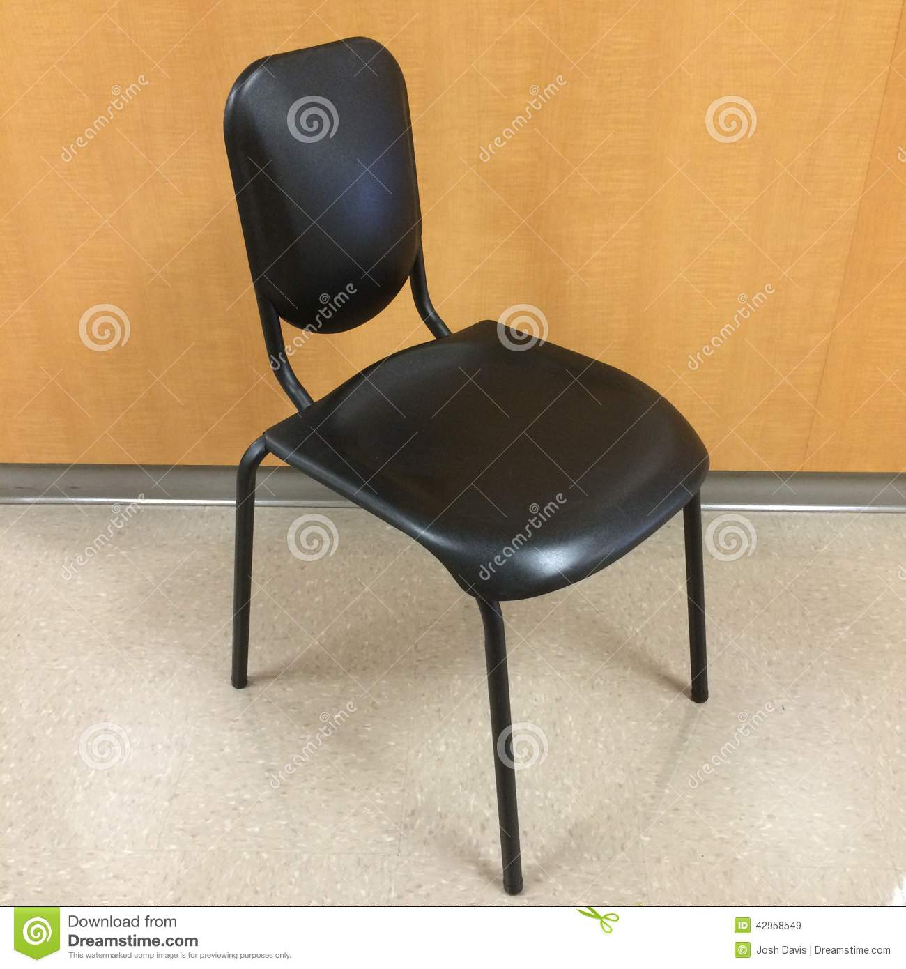 Posture Chair Stock Image
