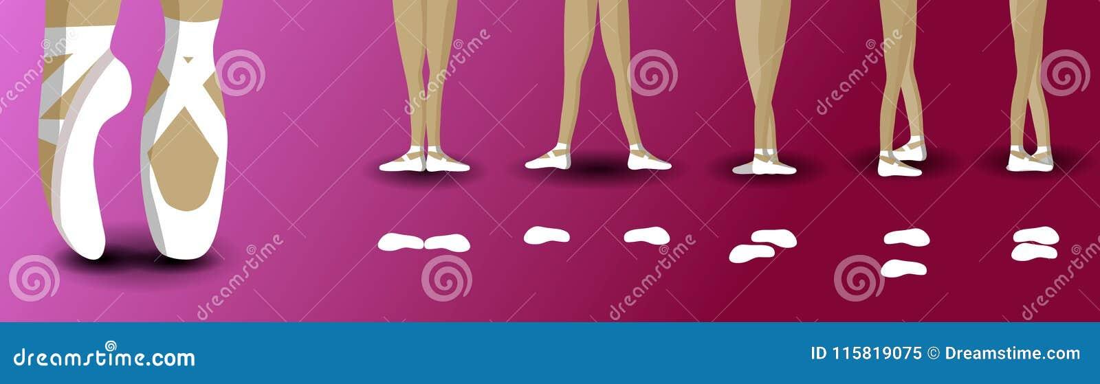 Postures pies en ballet