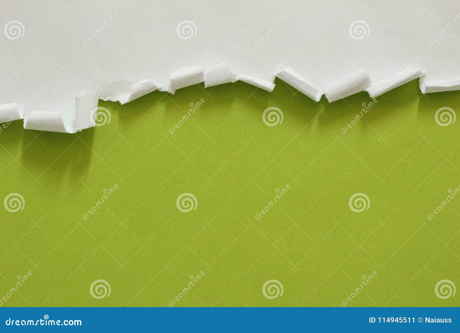 Poszarpany rozprucie papier