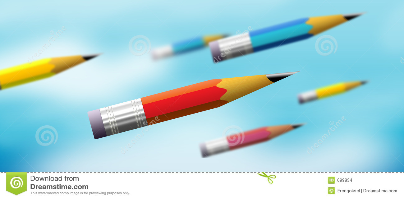 Potência do lápis