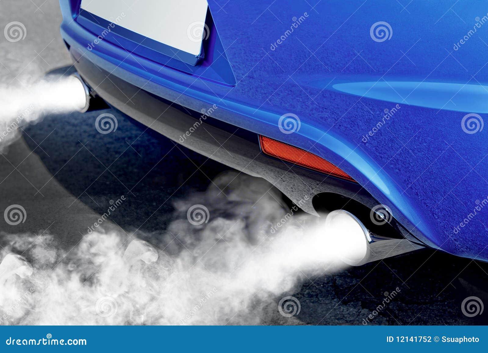 Potężny środowiska samochodowy zanieczyszczenie