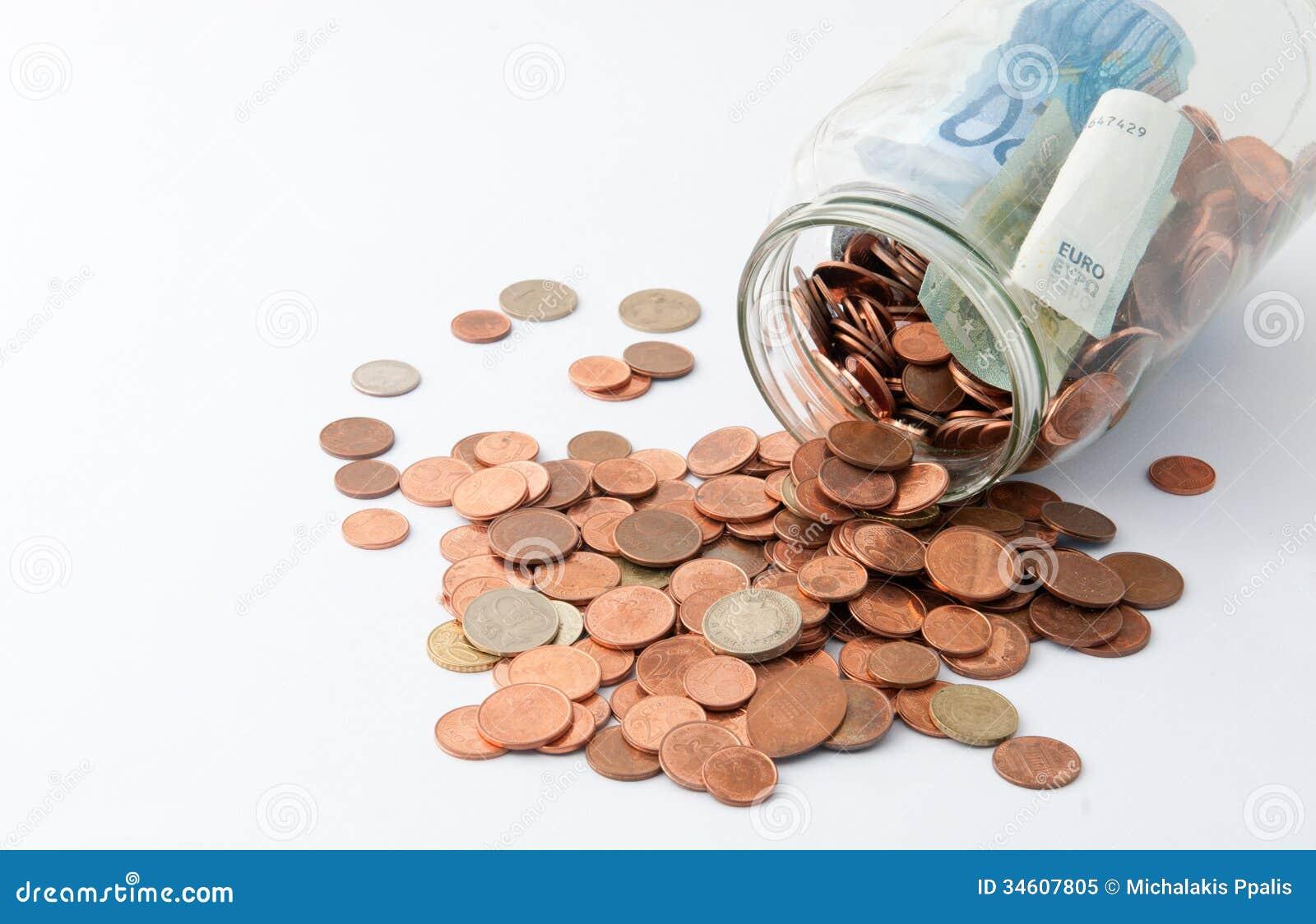 Pot avec l argent