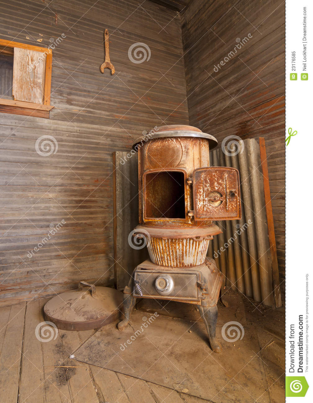 Pot Bellied Stove Royalty Free Stock Photo Image 23176585