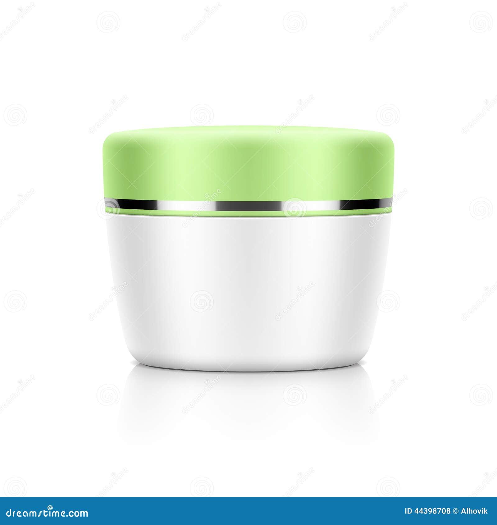 Calibre cosmétique de pot d'emballage, de crème, de poudre ou de gel ...