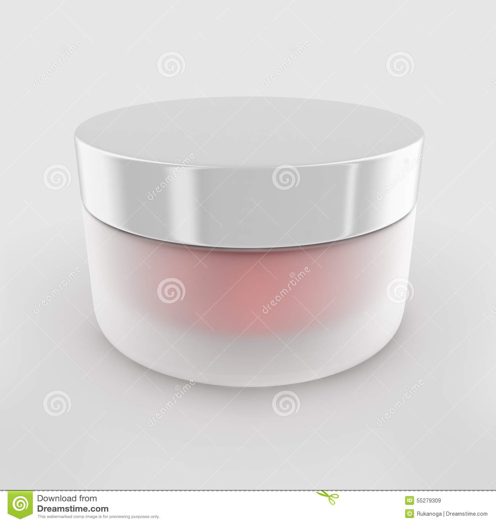 Pot crème de beauté