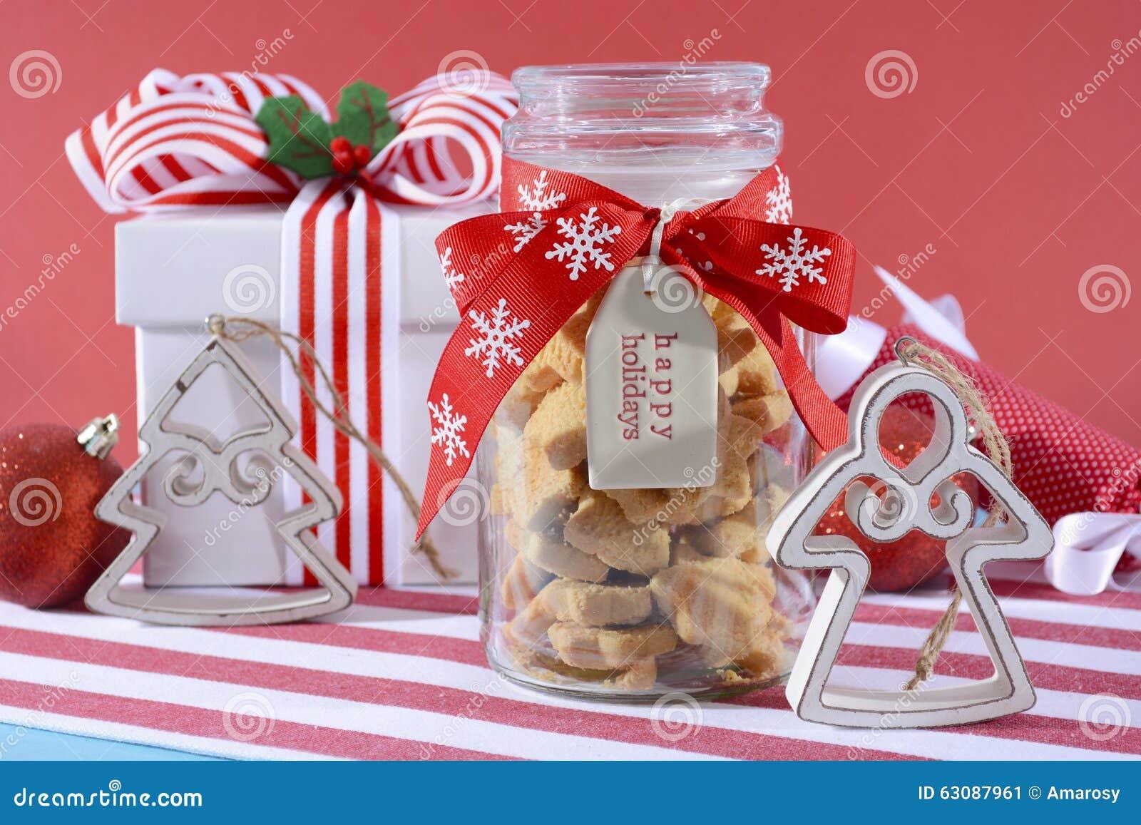 Download Pot De Biscuits Sablés En Forme D'étoile Image stock - Image du baked, vacances: 63087961