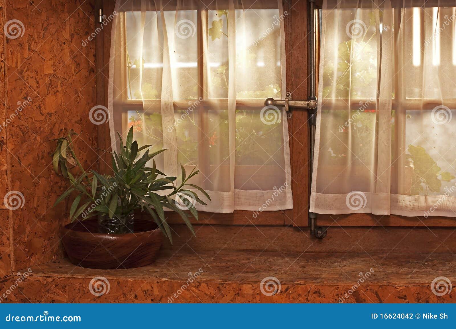 Pot en venster