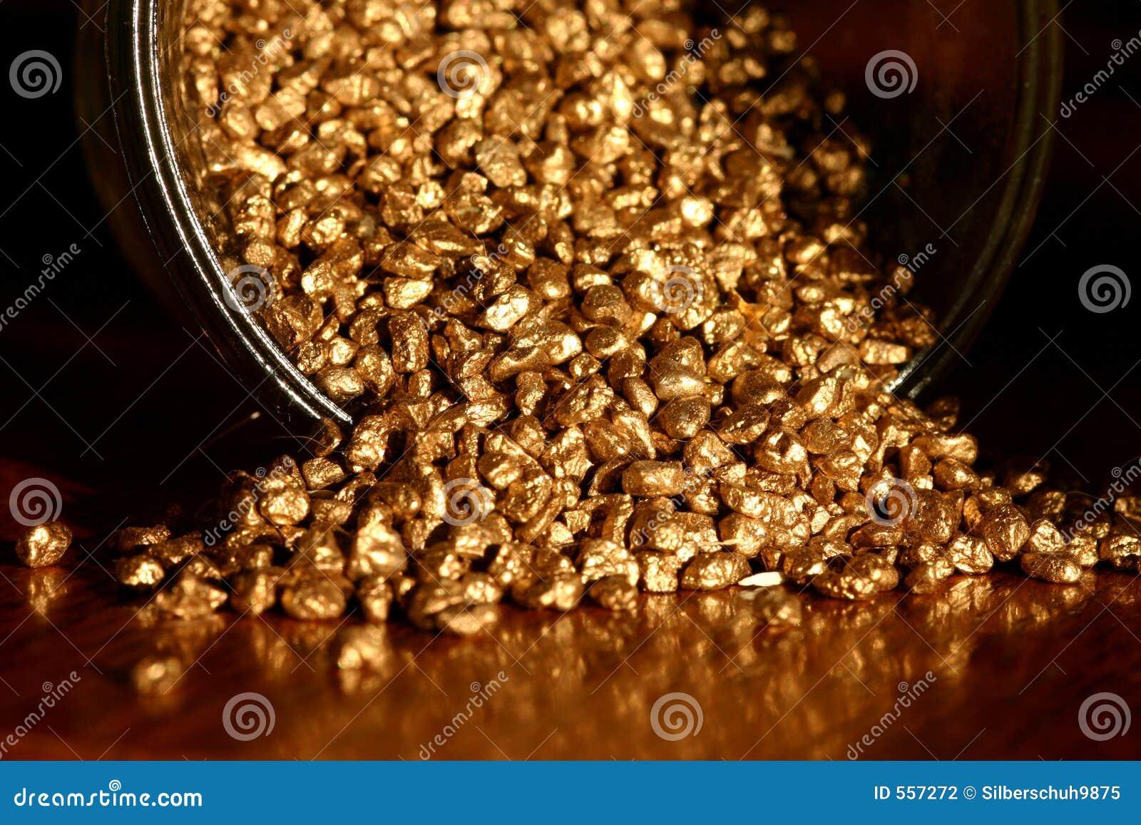 Pot Of Gold Stock Photo  Image Of Symbol  Golden