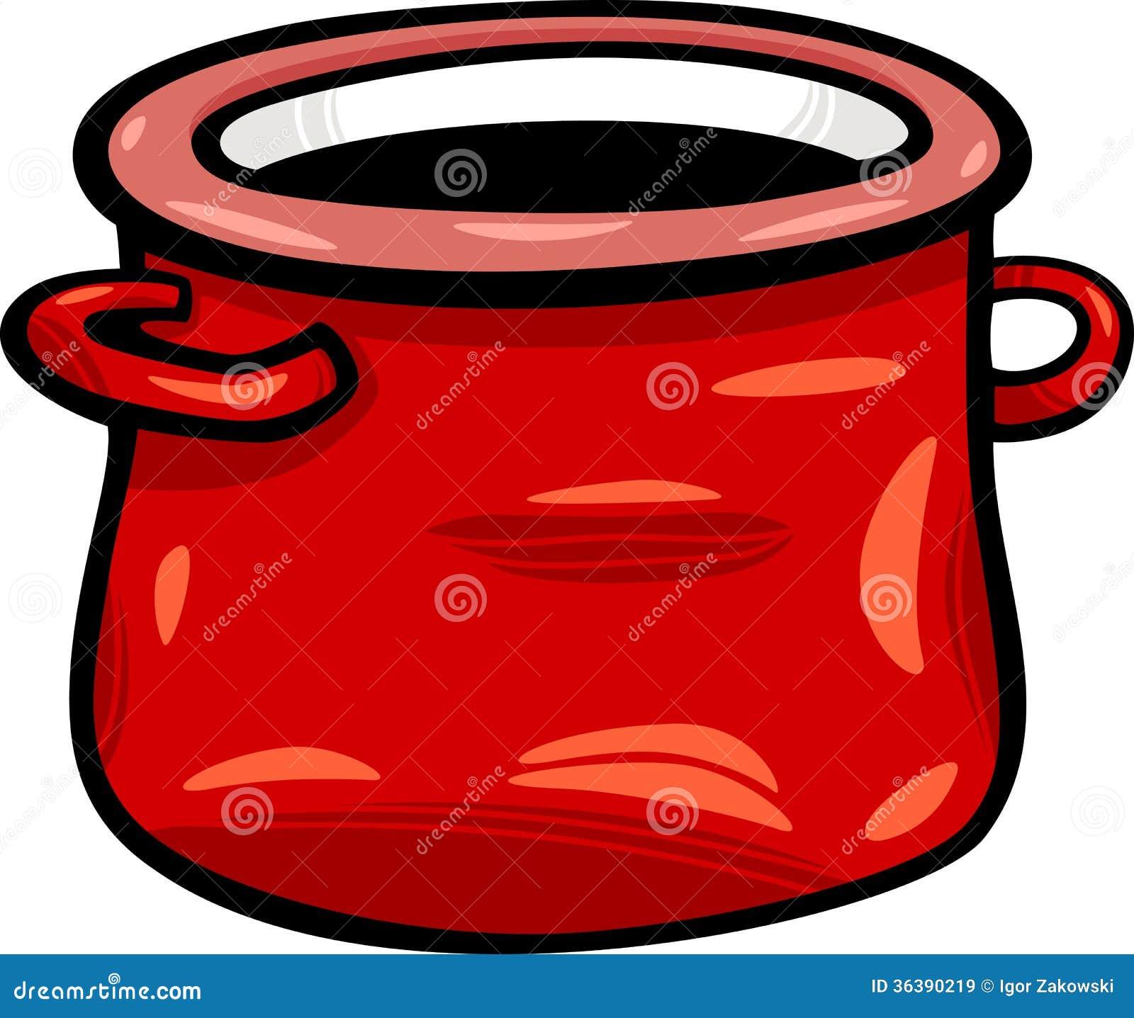 Royalty free stock images pot or jar cartoon clip art