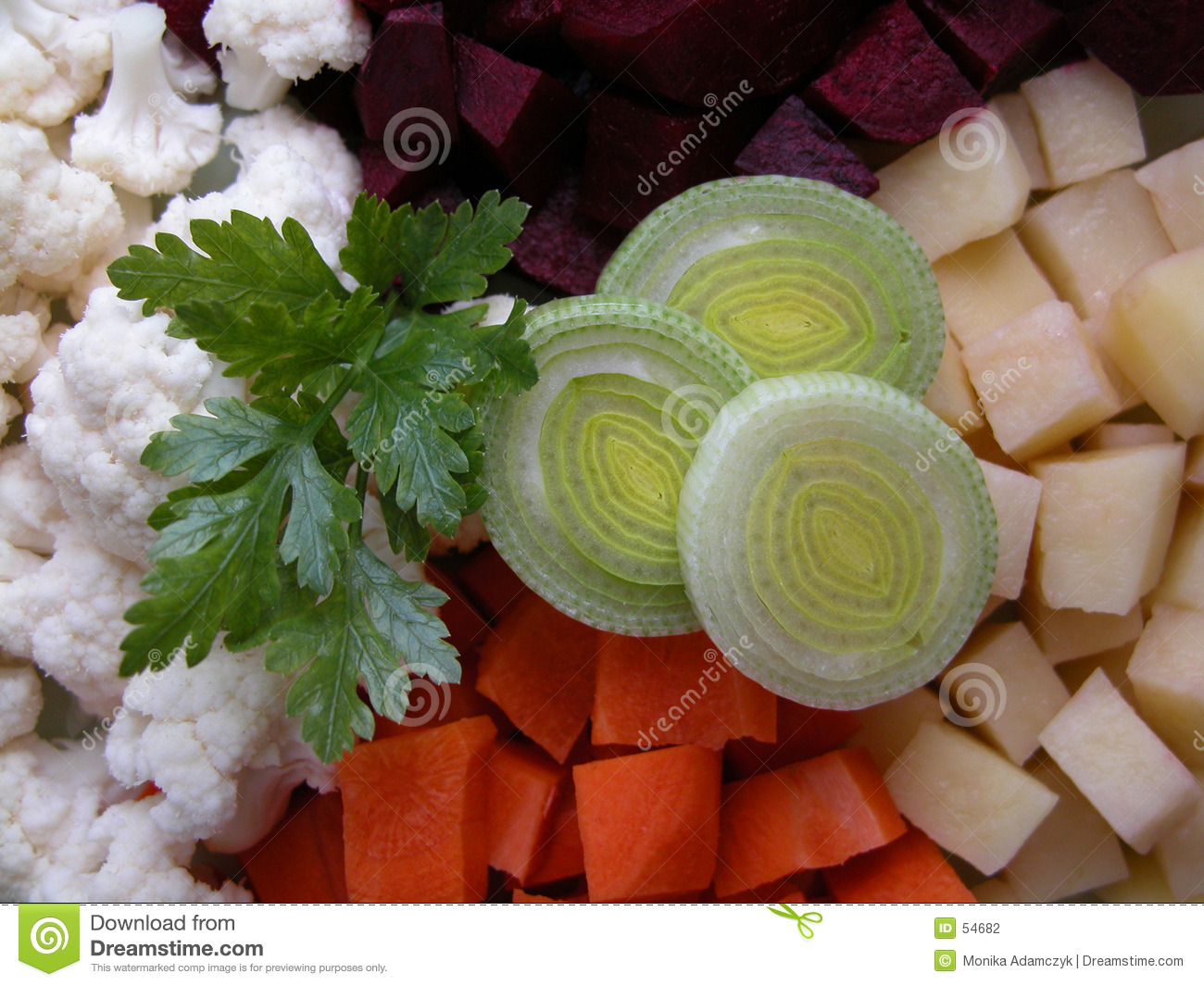 Download Potage photo stock. Image du part, carrot, persil, salubre - 54682