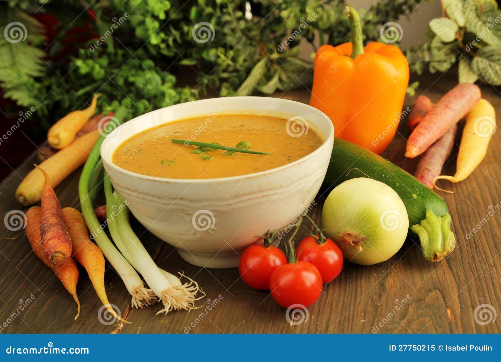 Potage aux légumes