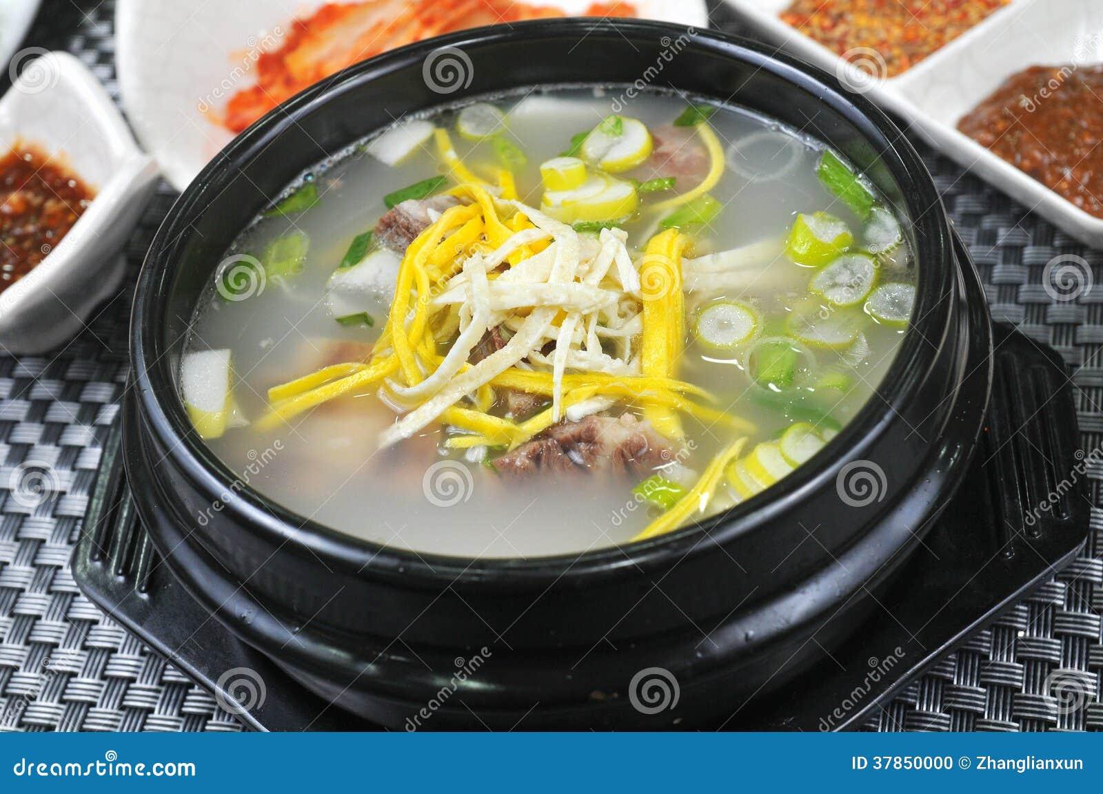 Potage aux légumes coréen