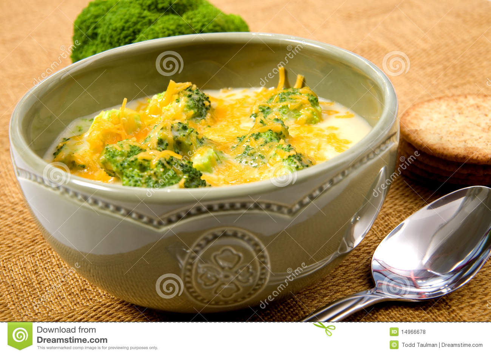 Potage de fromage de broccoli