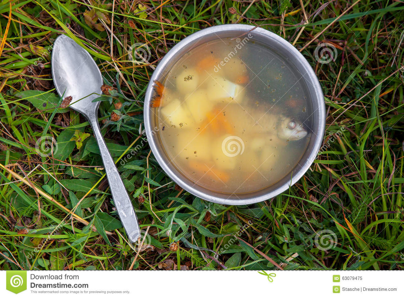 Download Potage de poissons image stock. Image du cuit, cuisine - 63079475